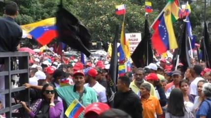 Masiva marcha en Venezuela en recuerdo de Salvador Allende