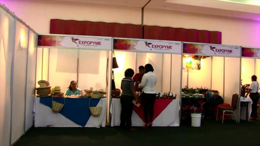 Feria en Nicaragua promueve a pequeños y medianos empresarios