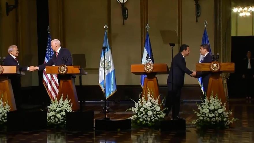 Estados Unidos presiona al Triángulo Norte de Centroamérica
