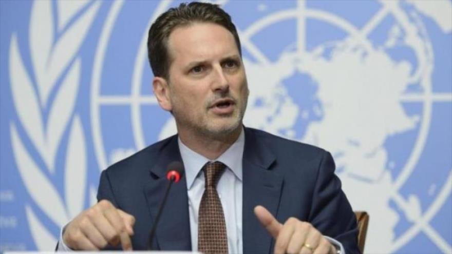 Pierre Krahenbuhl, jefe de las Naciones Unidas para los Refugiados Palestinos