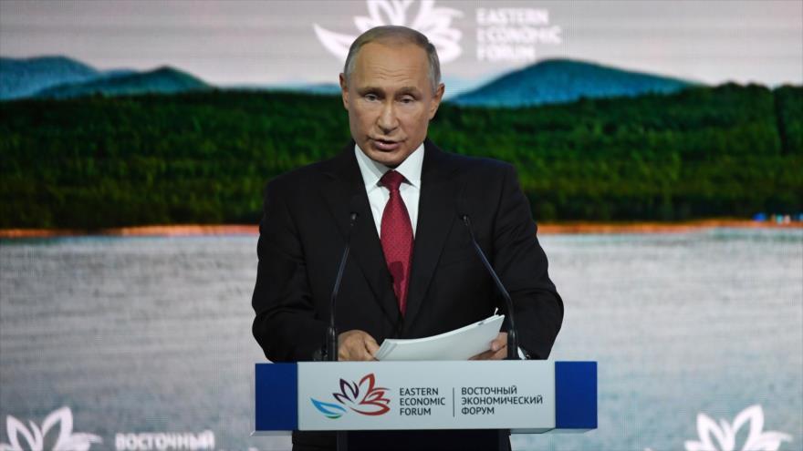 Putin critica a EEUU por pedir mucho a Pyongyang y 'no dar nada a cambio'
