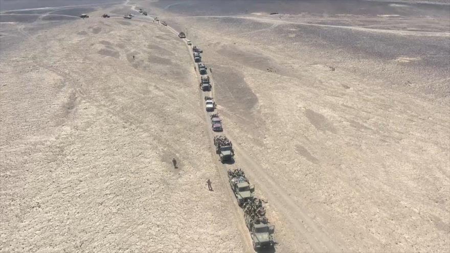 Ejército sirio empieza a avanzar hacia Al-Tanf, base de tropas de EEUU