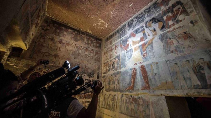 Egipto abre por primera vez al público una tumba de 4300 años