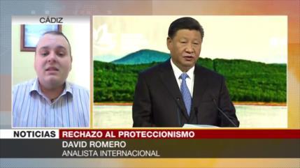 Romero: China será la nueva valedora del libre comercio