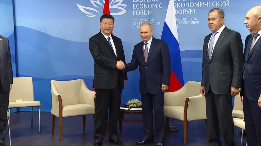 China y Rusia se unen para luchar contra el proteccionismo