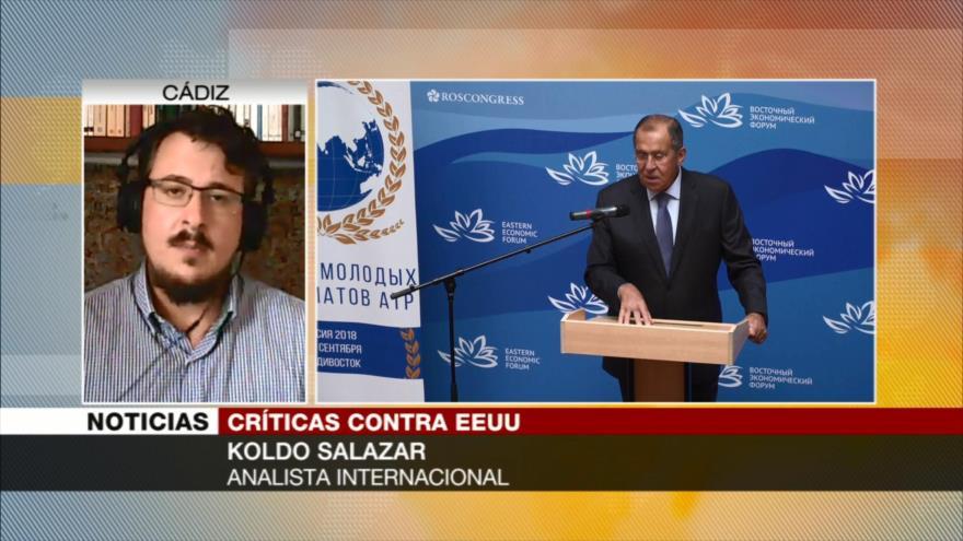 Salazar: Política de sanciones de EEUU acabará con su hegemonía