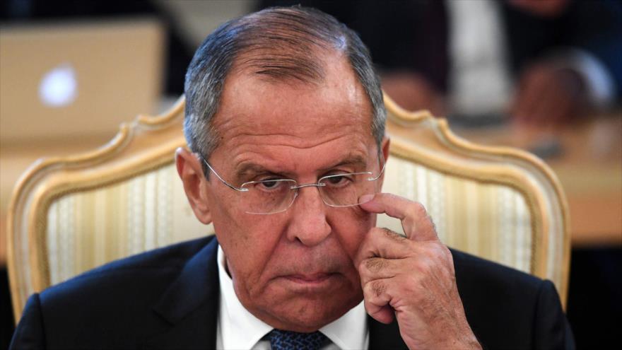El canciller de Rusia, Serguéi Lavrov, durante una reunión en Moscú (capital rusa), 30 de agosto de 2018 (Foto: AFP).