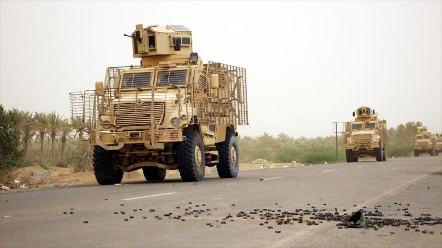 Vídeo: Ansarolá destruye 16 blindados saudíes en el oeste yemení