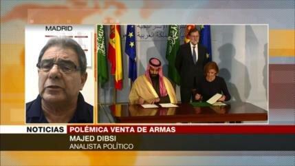 Dibsi: España, cómplice de Riad por venderle armas para guerra en Yemen