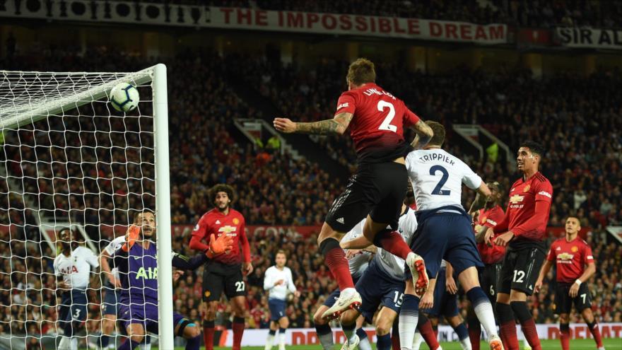 Una foto sacada de un encuentro entre Manchester United y Tottenham, Manchester, 27 de agosto de 2018. (Foto: AFP)