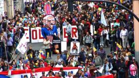 Miles se manifiestan en Ecuador contra Lenín Moreno