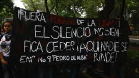 Estudiantes marchan contra violencia en universidades mexicanas
