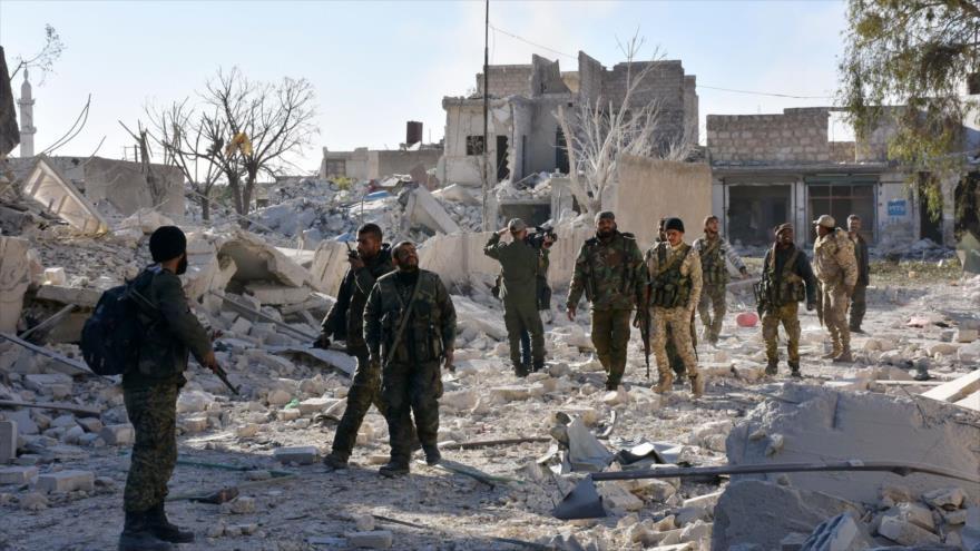 Vídeo: Espía del Ejército sirio graba bastión rebelde en Alepo
