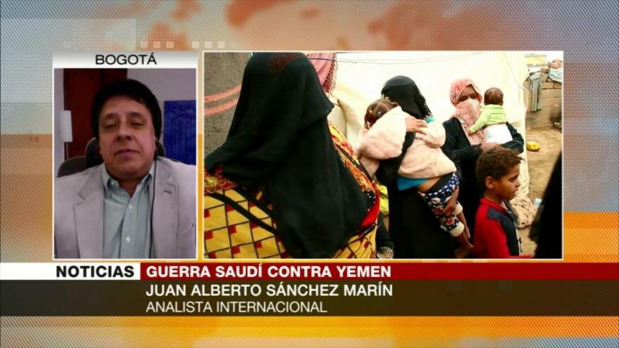 Sánchez Marín: Riad somete a pueblo yemení a una campaña de exterminio