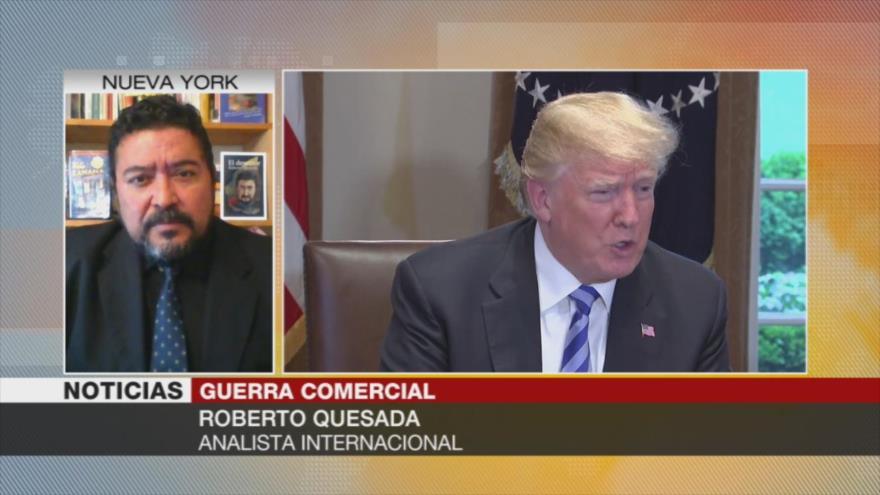 Quesada: Proteccionismo de Trump ha aislado a EEUU en el mundo