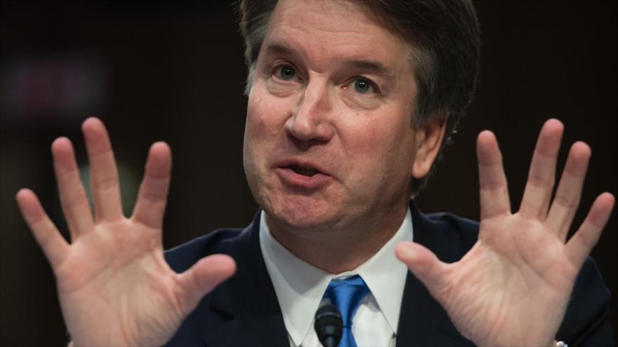 Brett Kavanaugh, nominado por Donald Trump, para el Tribunal Supremo de EE.UU. (Fuente: AFP)