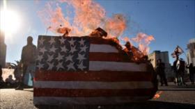 Vídeo: Argentinos queman bandera de EEUU en protesta anti-G20