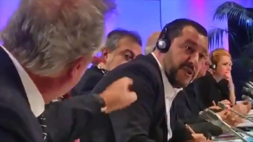 División por migración: Luxemburgo manda 'a la mierda' a Salvini