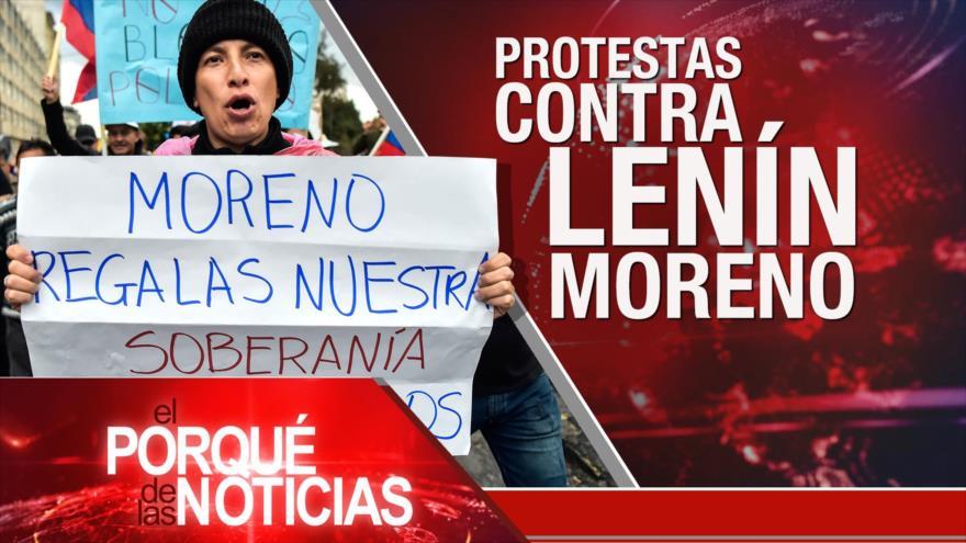 El Porqué de las Noticias: Marcha del Retorno. Protestas contra Lenín Moreno. Máster fraudulento