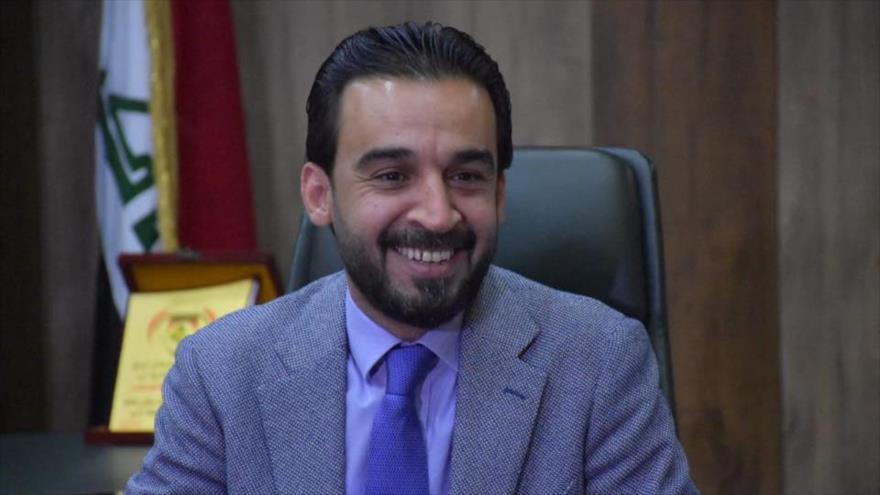 El legislador iraquí Mohamed al-Halbusi, elegido nuevo presidente del Parlamento.