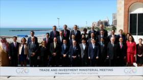 El G20 pide reformas en la OMC ante guerra comercial de EEUU