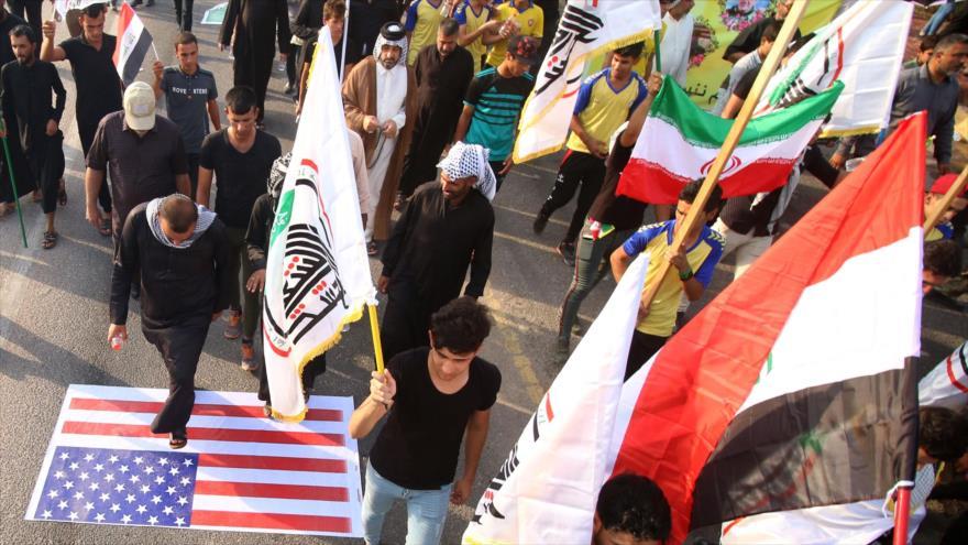 Iraquíes marchan en Basora para condenar ataque al consulado de Irán