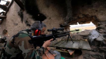 Fuerzas sirias dan duros golpes a Daesh en Deir Ezzor