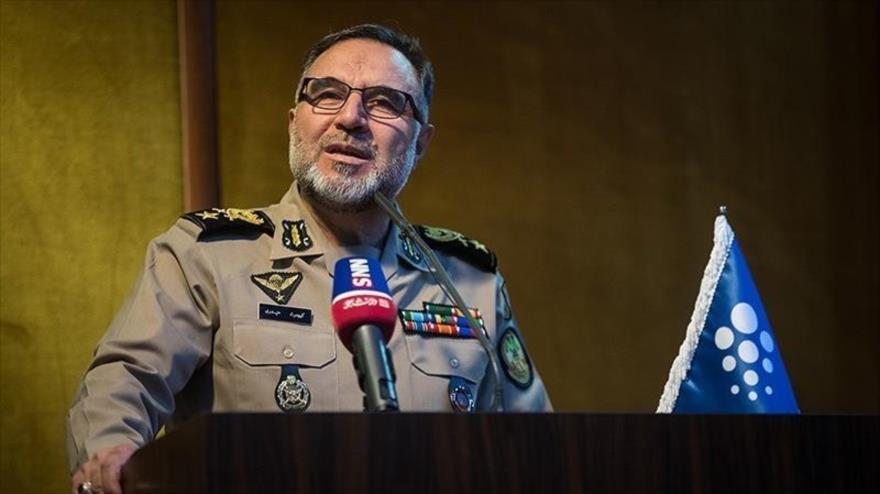 El comandante de la Fuerza Terrestre del Ejército iraní, el general de brigada Kiumars Heidari.
