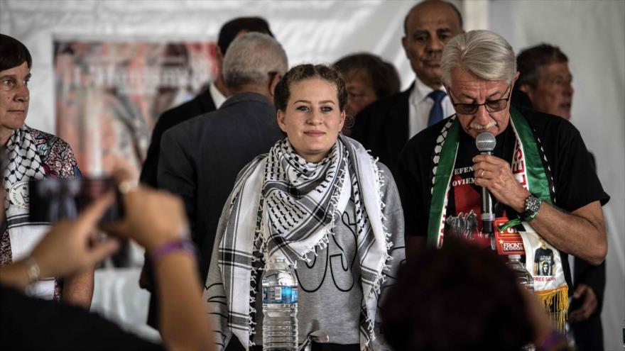 Ahed Tamimi, valiente joven palestina, denuncia ocupación israelí