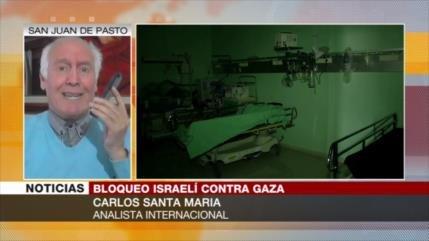 Carlos Santa María: Egipto debe abrir su frontera con Gaza