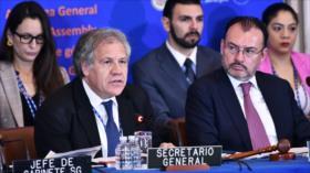 """""""Almagro está solo en su obsesión golpista contra Venezuela"""""""