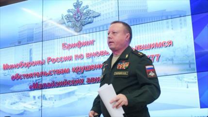 Rusia presenta pruebas de que Ucrania derribó el MH17 en 2014