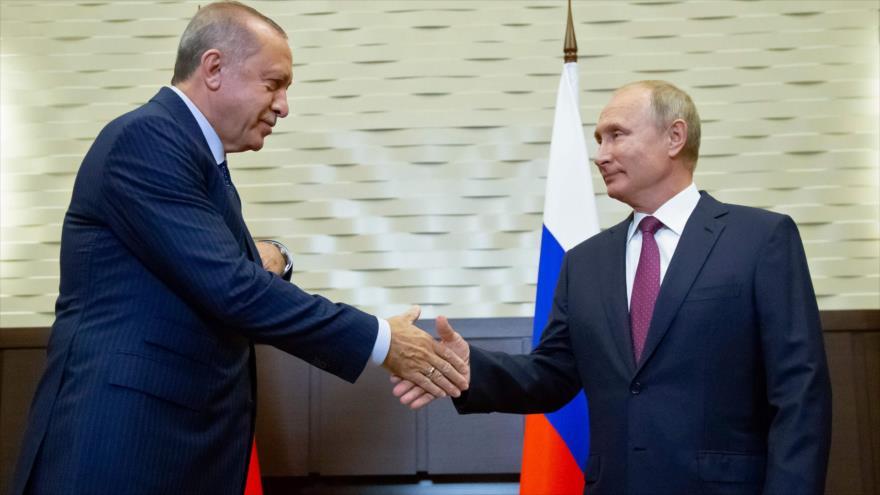 Rusia y Turquía acuerdan una 'zona desmilitarizada' en Idlib