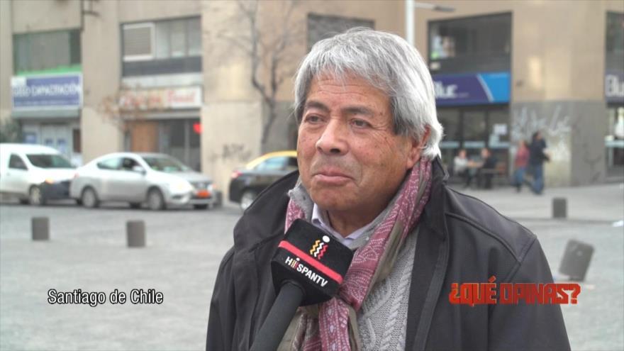 ¿Qué Opinas?: Los derechos humanos en Chile