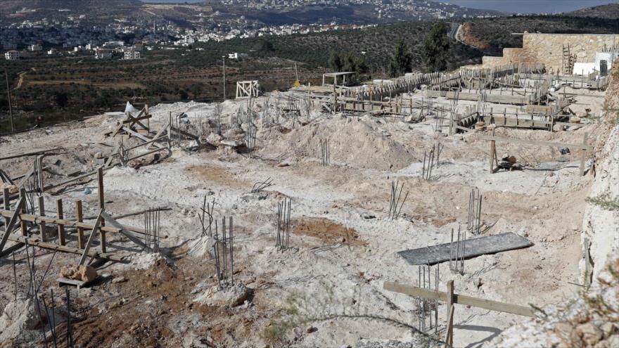 Israel busca expandir un asentamiento ilegal en Cisjordania