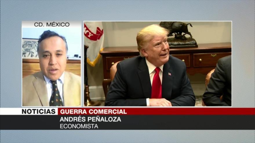 Peñaloza: Trump no podrá doblegar a China como lo hizo con México