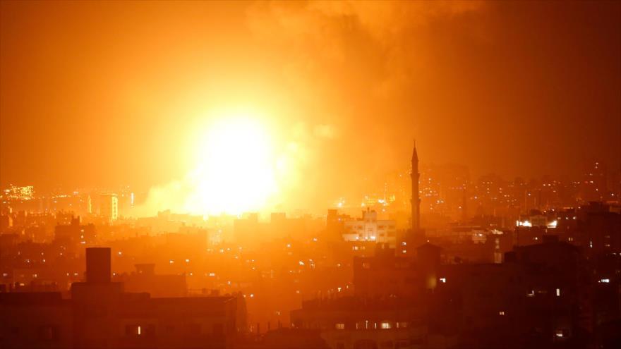 Nuevo bombardeo israelí contra Gaza deja dos muertos palestinos