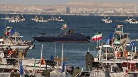 Irán realizará desfile militar en el Golfo Pérsico con 600 buques