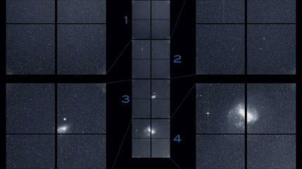 NASA capta imágenes de otras galaxias próximas al Sistema Solar