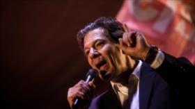 Haddad afirma que no indultará a Lula si gana comicios en Brasil