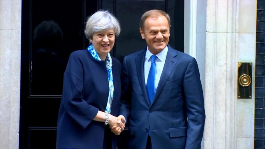 Parlamento británico repasa progreso de May en el Brexit