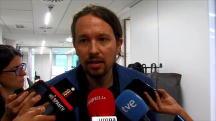 """Pablo Iglesias: """"Aznar es el jefe de los corruptos"""""""