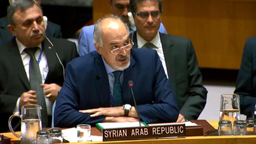 Rusia y Siria denuncian en el CSNU los ataques de Israel a Siria