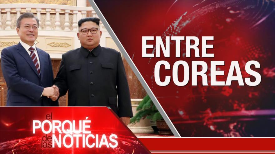 El Porqué de las Noticias: Reconciliación coreana. Guerra comercial de Trump. Injerencia en Venezuela