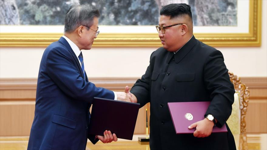 'Las Coreas acuerdan el camino para lograr desnuclearización'