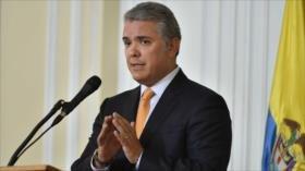"""Duque descarta """"espíritu belicista"""" de Colombia ante Venezuela"""