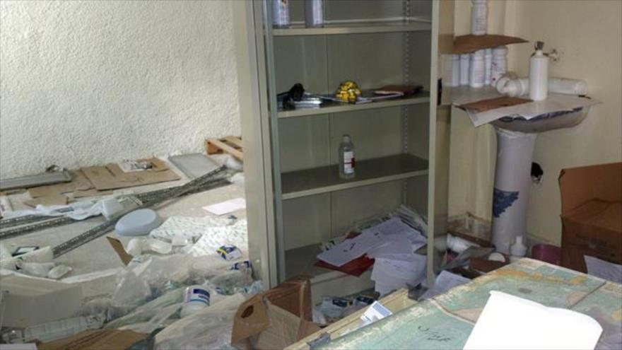 Descubren medicinas israelíes en hospital de terroristas en Al-Quneitra