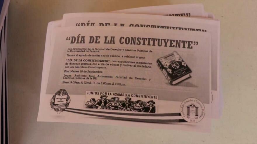 Autoridades panameñas ausentes en debate sobre Constitución