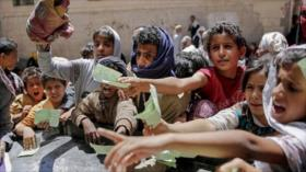 Más de 5 millones de niños de Yemen viven amenazados por hambre