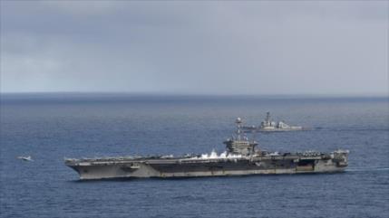 Grupo de ataque de Armada de EEUU lanza operación en Mediterráneo